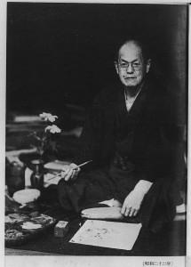 Mushanokoji_Saneatsu_in_1947